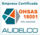 Certificación OHSAS 18001 ó ISO 45001 - Audelco
