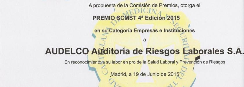 AUDELCO GALARDONADA CON EL PREMIO SCMST - Audelco