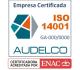 Certificación ISO 14001 - Audelco