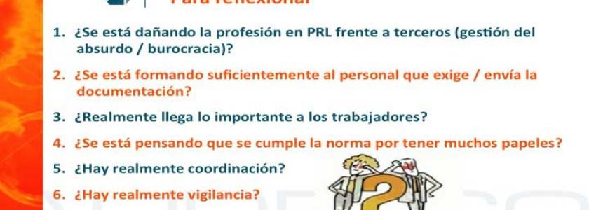 Audelco analiza la problemática de la coordinación de actividades empresariales - Audelco