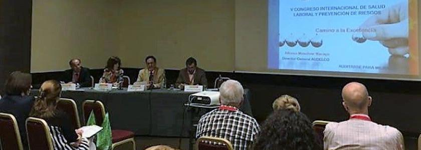 V Congreso de la Sociedad Castellana de Medicina y Seguridad del Trabajo - Audelco