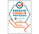 Sello Espacio COVID protegido - Audelco