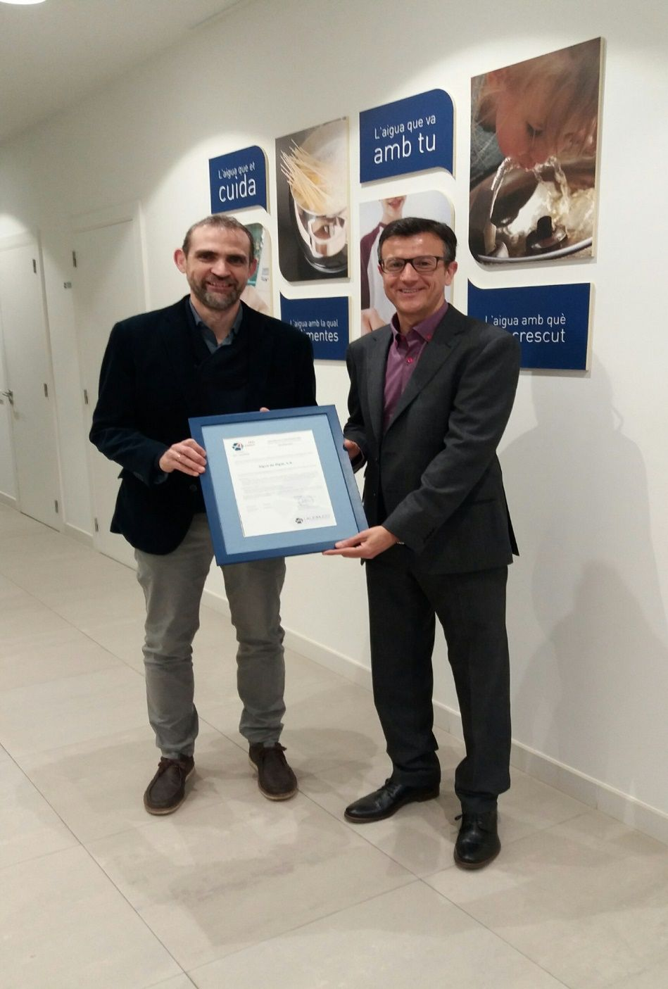 Audelco Certificado ISO 39001