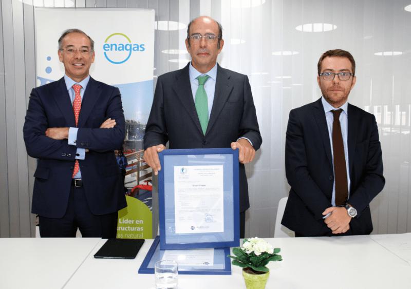 Certificación en Empresa Saludable y Certificación en Seguridad Vial para Enagás