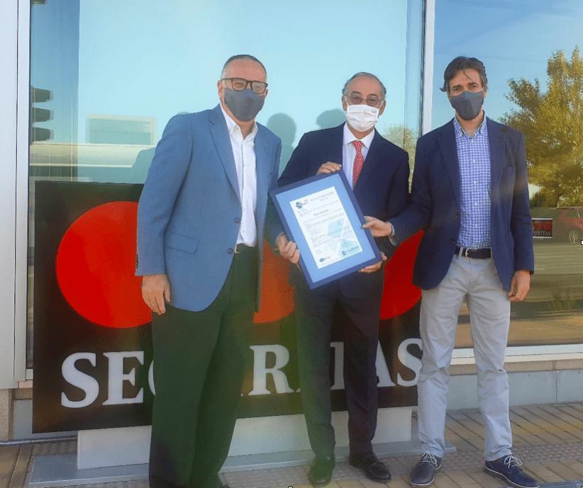 Entrega de certificación ISO 45001:2018 A GRUPO SECURITAS